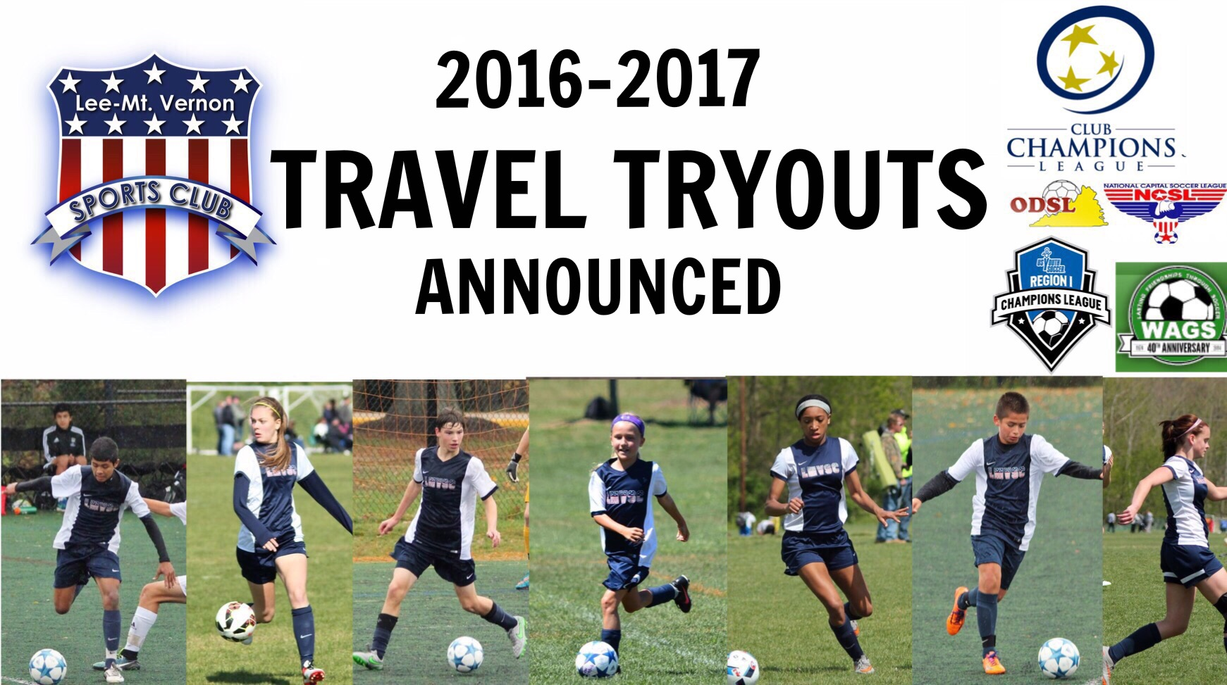 2016 17 travel soccer tryouts lee mount vernon sports club